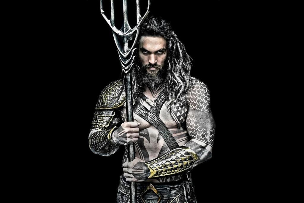 Aquaman, Jason Momoa - cover
